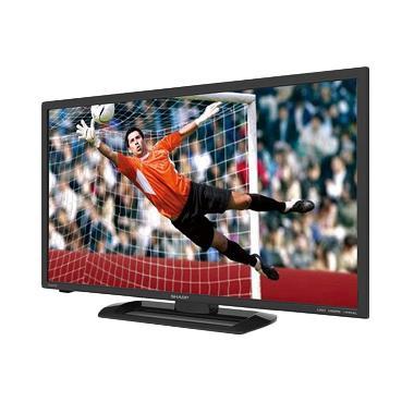 Sharp Aquos LC-24LE175I LED TV - Hitam [24 Inch]
