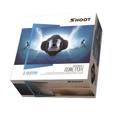 SHOOT Dome Port for GoPro Hero 3+ o ... Hood [Version 2.0/6 Inch]