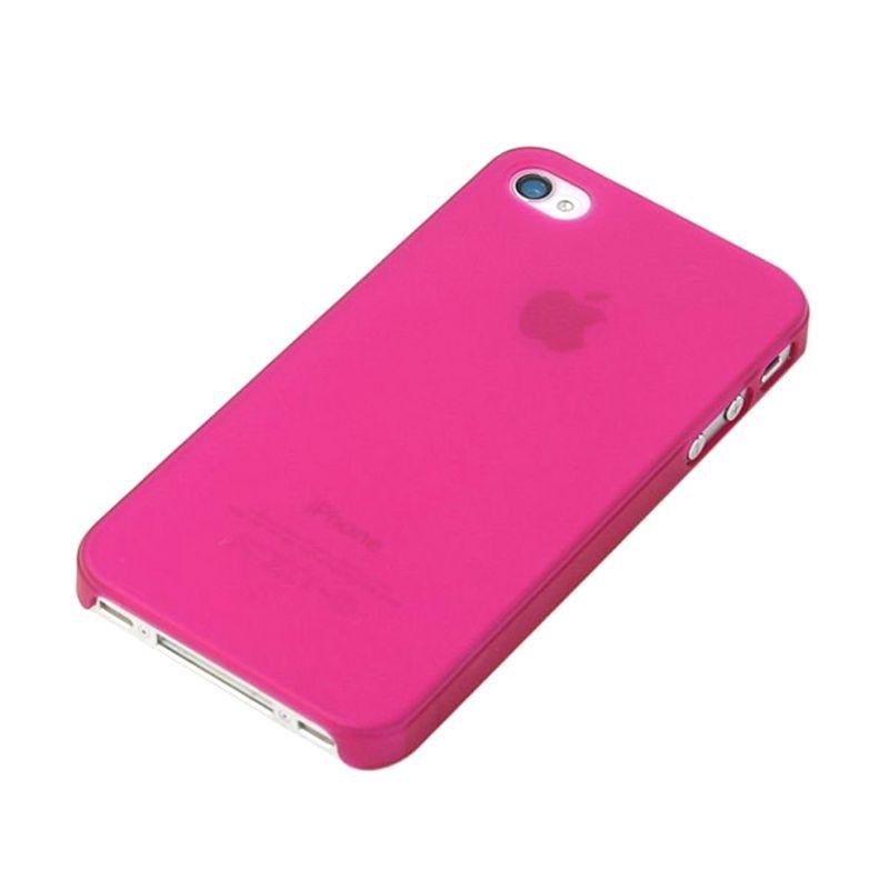 Caze Zero5 Pink Matte Casing for iP ...