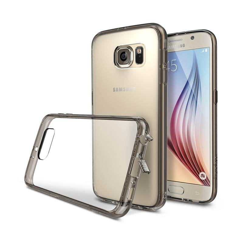 Rearth Ringke Fusion Transparent Black Casing for Samsung Galaxy S6