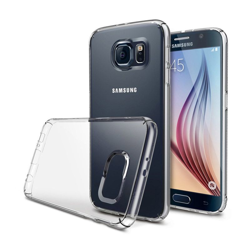 Rearth Ringke Slim Transparent Casing for Samsung Galaxy S6
