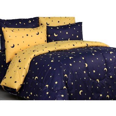 Sierra Starry Night Set Bedcover dan Sprei