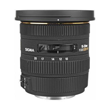 Sigma 10-20mm f/3.5 EX DC HSM Autof ...  Kamera for Nikon - Hitam