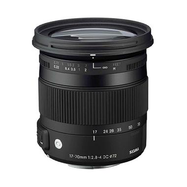 Sigma Lensa 17-70mm F/2.8-4 DC Macro OS HSM For Canon