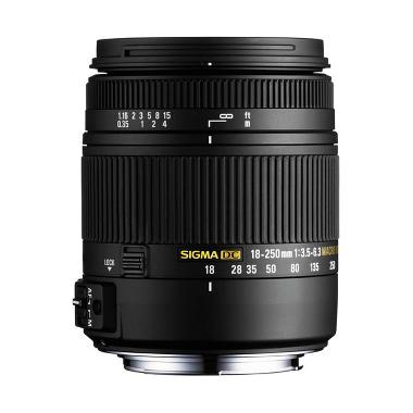 Sigma Lens 18-250mm f/3.5-6.3 DC Macro OS HSM for Nikon