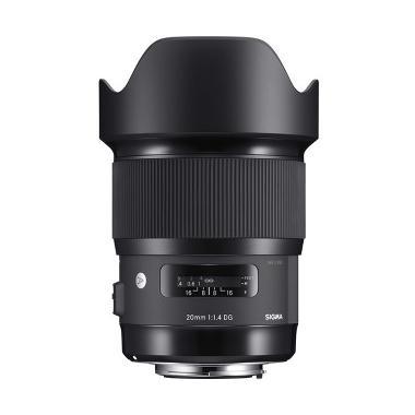 Sigma Lens 20mm f1.4 DG HSM (A) for Sony E Black