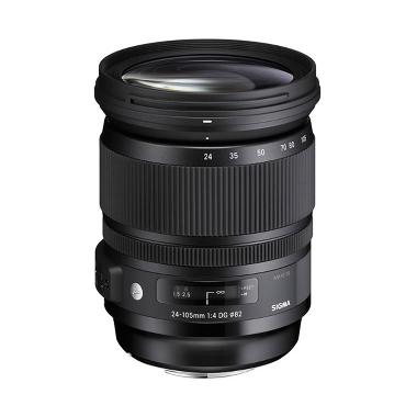 Sigma 24-105mm f/4 DG OS HSM Art Lensa Kamera for Nikon - Hitam