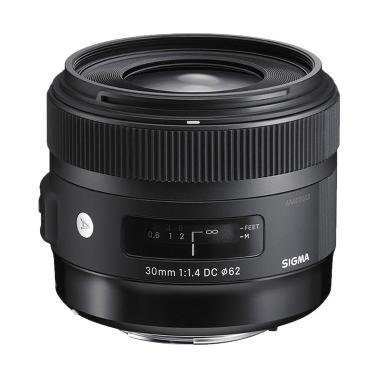 Sigma 30mm F1.4 DC HSM Art Lensa Kamera for Canon Hitam - BKP