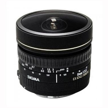 Sigma Circular Fisheye Lensa Kamera For Canon 8mm F3.5 EX DG - BKP