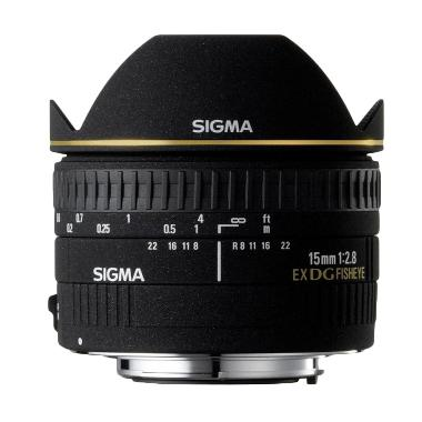 Sigma For Canon 15mm F/2.8 EX DG Diagonal Fisheye Tokocamzone