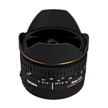 SIGMA 15mm f/2.8 EX DG Fisheye Diagonal For Canon