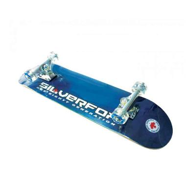 Silver Fox Prof.100% Canadian Maple LY-3108AF-BL Skateboard - Blue