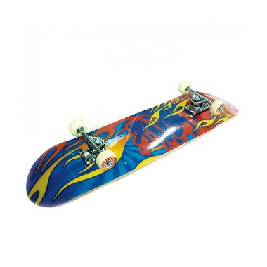 Silver Fox Skate Board Maple Blue Red Fire LY 3108AA Y31 108