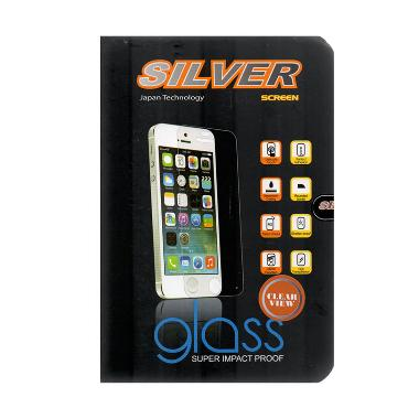Silver Tempered Glass Screen Protector 9H for Oppo Joy 3