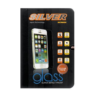 Silver Tempered Glass Screen Protector Oppo Find 5 Mini [9H]