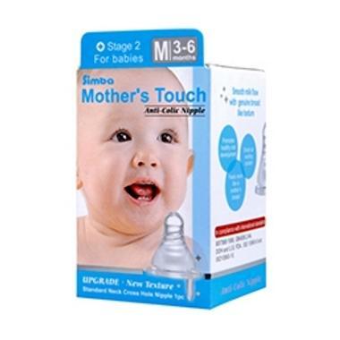 Simba Mother Touch P6302 Std Cross Nipple M Dot Bayi