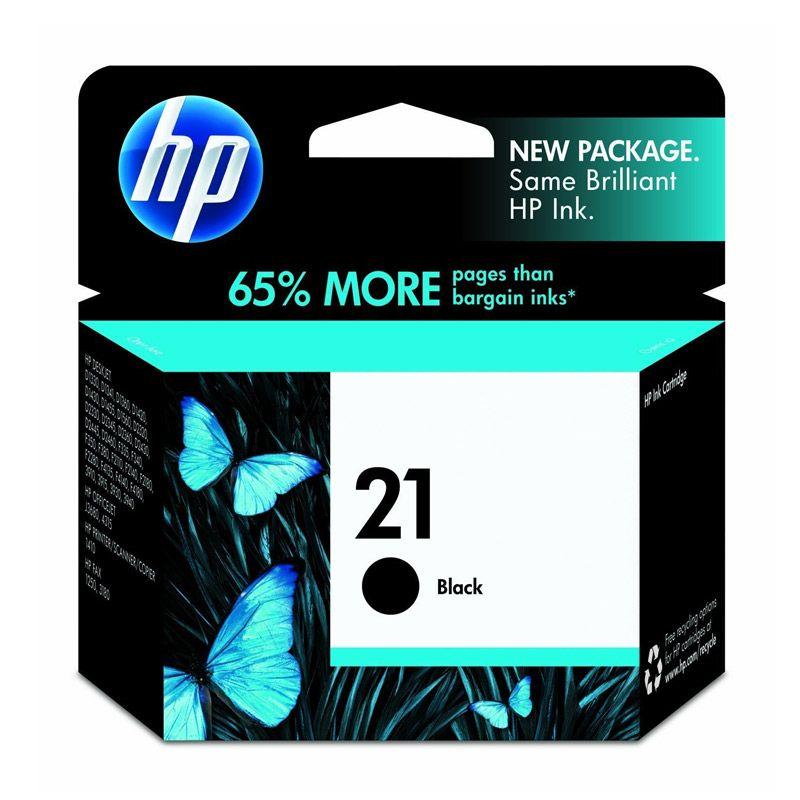 HP 21 Black Tinta Printer           ...