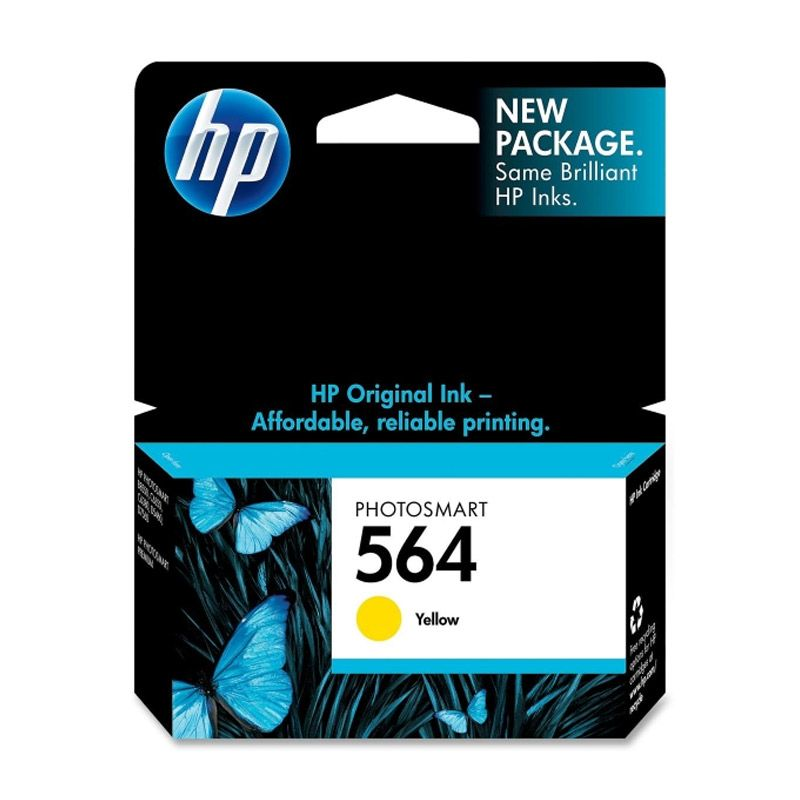 HP 564 Yellow Tinta Printer         ...