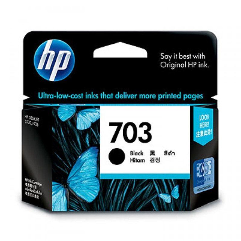 HP 703 Black Tinta Printer          ...