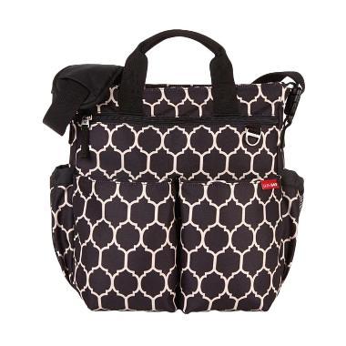 Skip Hop Duo Signature Diaper Bag Onyx tile