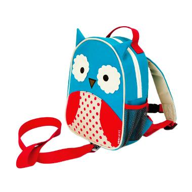 Skiphop Zoo Let Mini Backpack With Rein Owl Tas Anak