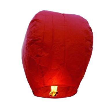 Sky Lantern Indonesia Lampion Terbang - Merah