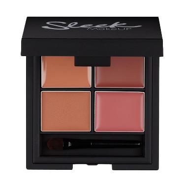 TWL Cosmetic Sleek Lip 4 Lipstick Palette - Ballet