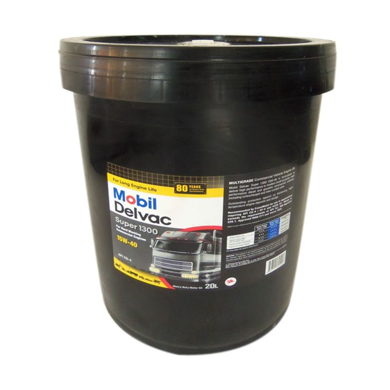 Jual Mobil Delvac Super 1300 15W 40 Oli Pelumas 20 Liter