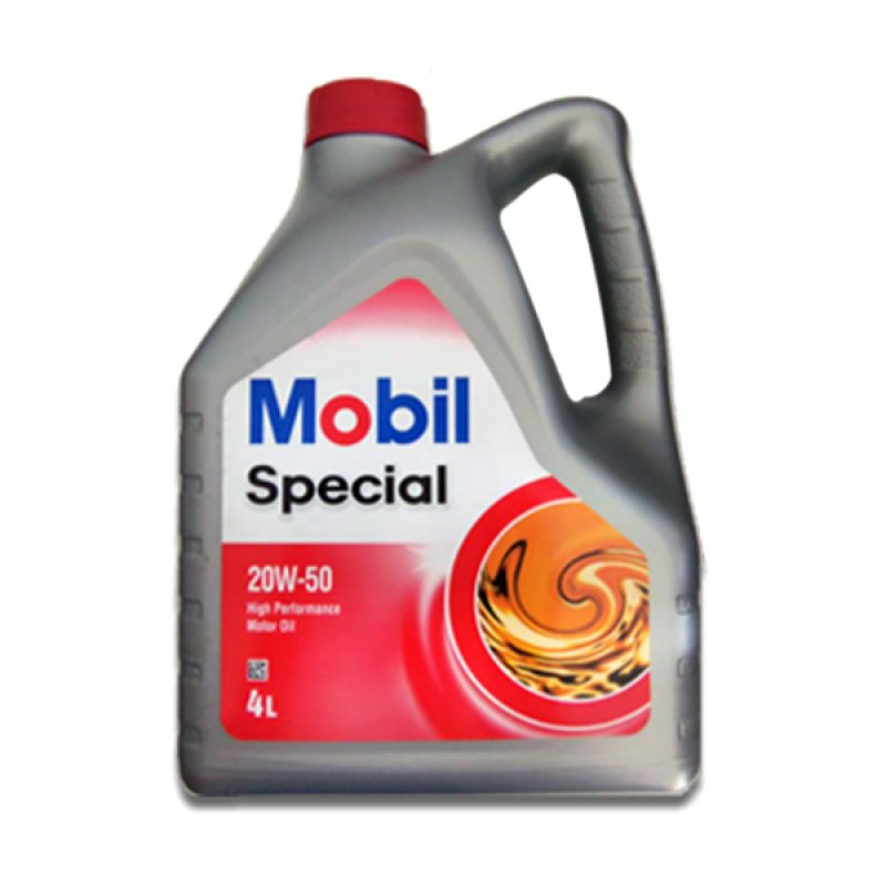 Mobil Special 20W 50 Oli Pelumas 4 Liter