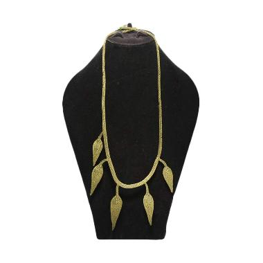 Smesco Trade Kalung Kawat Oval - Gold