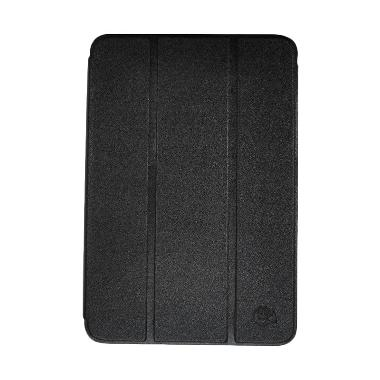 Smile Flip Cover Casing for Samsung Tab A 8 Inch T350 - Hitam
