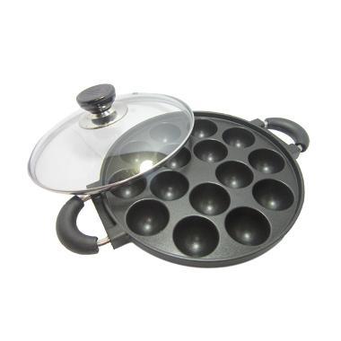Snack Maker Alat Cetakan Kue Takoyaki Pan [15 Lubang]
