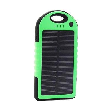 Solar Cell Powerbank - Hijau