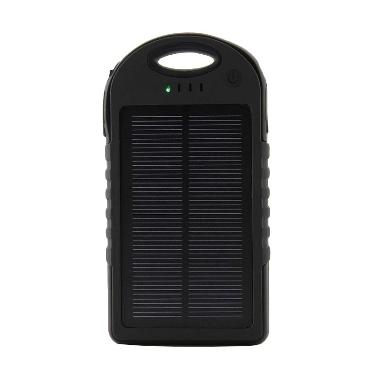 Solar Cell Powerbank - Hitam