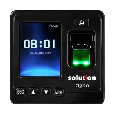 Solution A300 Fingerprint Absensi dan Akses Kontrol Pintu