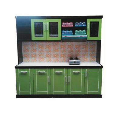 Jual sonang furniture mks 02 mini kitchen set 5 pintu for Jual peralatan kitchen set