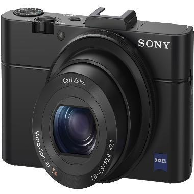 Sony Cybershot DSC-RX100 Mark II Bl ...  + Tas + LCD Screen Guard
