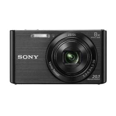 Sony DSC-W830 Black Kamera Pocket