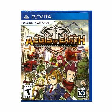 [Sony PS Vita] Aegis Of Earth: Protonovus Assault