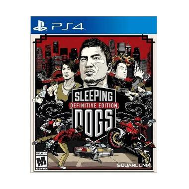 Sony PS4 Sleeping Dogs DVD Game