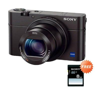 SONY RX100 M3 + Sony SD 8 GB  + Tongsis Eksklusive
