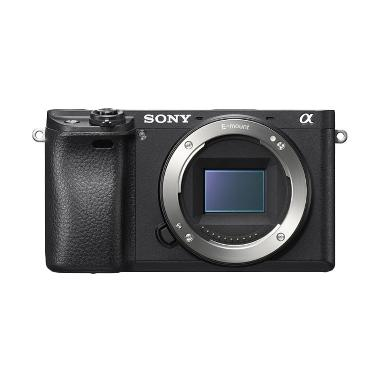 SONY ALPHA 6300 Kamera Mirrorless - Hitam [Body Only]