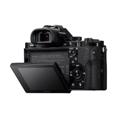Sony Alpha 7 Hitam Kamera Mirrorless + SONY Lensa SEL FE 50mm f1.8