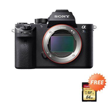 Sony Alpha 7S II Kamera Mirrorless [Body Only]