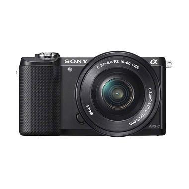 Kamis Ganteng -  Sony Alpha A5000 K ... 6 Black Kamera Mirrorless