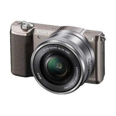 Sony Alpha a5100 Kit 16-50mm Brown  ...  Resmi 1th - Kamerakamera