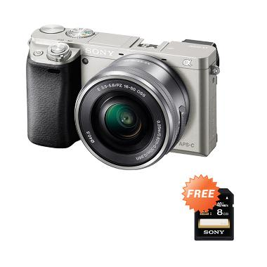 Sony Alpha A6000 16-50mm Silver Kamera Mirrorless