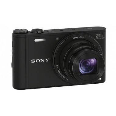 BORNEO DIGITAL- Sony Cyber-shot WX350 Hitam Kamera Pocket