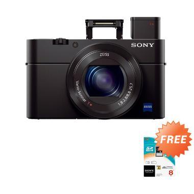 Sony DSC RX100 M3 Kamera Pocket - H ... MP] + Free Sony SDHC 8 GB