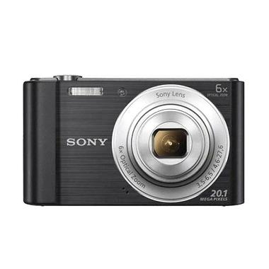 SONY Cyber-shot DSC-W810 (BLACK) Po ... andisk 16Gb + Pocket Case
